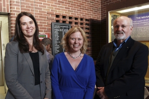 EKU Professor Jennifer Wies, Professor Sarah Lyon, John van Willigen, professor emeritus in the UK Department of Anthropology at UK and representative of the Society for Applied Anthropology.